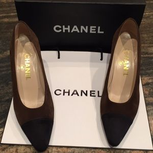 CHANEL Suede Pump 🌟 8.5